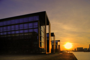 Nordea head office christianshavn, copenhagen © David Hamilton Melby high dynamic range