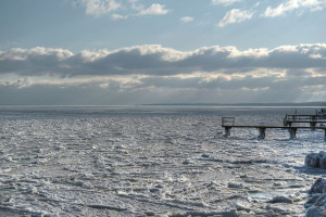 Frozen Oeresund © David Hamilton Melby high dynamic range