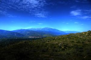 Mountain range, France © David Hamilton Melby high dynamic range
