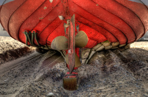 Fishingboat propeller, Thorupstrand, Northern Jutland © David Hamilton Melby high dynamic range