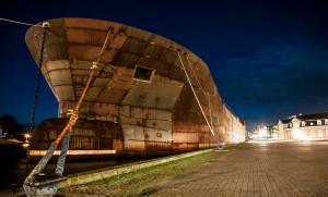 Rusty ship, Korsør habor long exposure © David Hamilton Melby