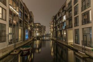 Channel city, Kenny Drews Vej Sluseholmen, Copenhagen long exposure © David Hamilton Melby