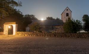 Church in Tjele long exposure © David Hamilton Melby