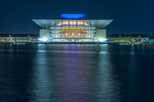 Copenhagen Opera House long exposure © David Hamilton Melby