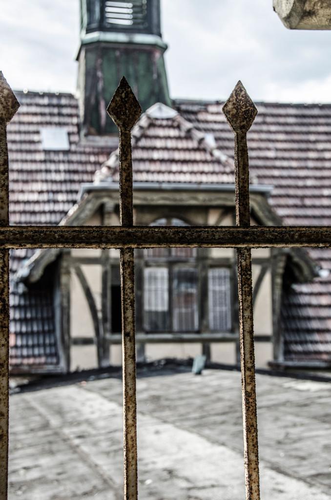 Building, Beelitz Heilstätten Hospital © David Hamilton Melby