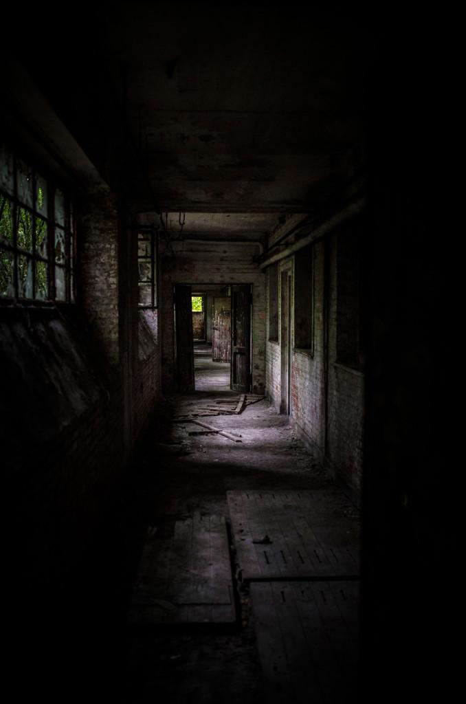Fort de la Chartreuse military base belgium hallway ground level © David Hamilton Melby