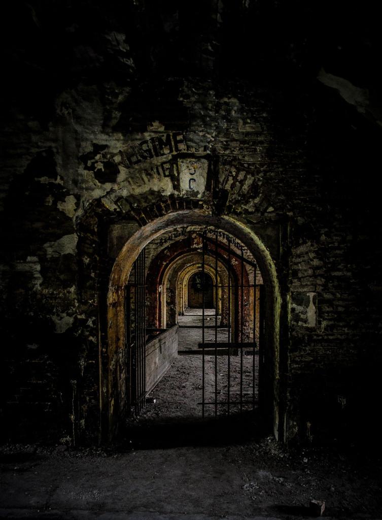 Fort de la Chartreuse military base belgium entrance © David Hamilton Melby