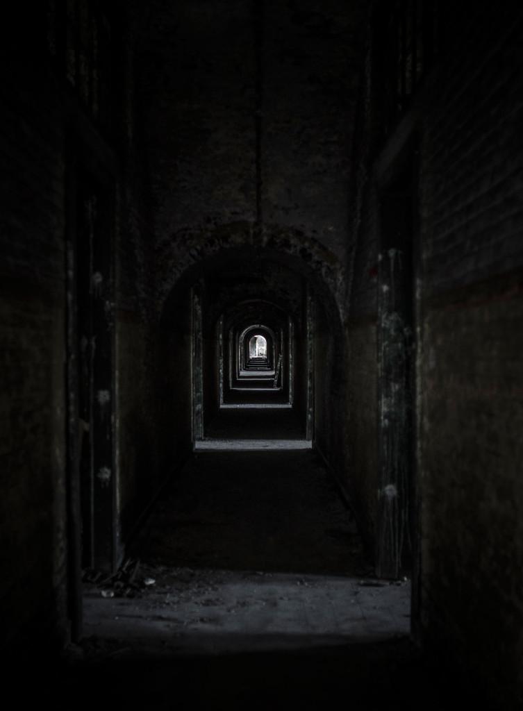 Fort de la Chartreuse military base belgium hallway first floor © David Hamilton Melby