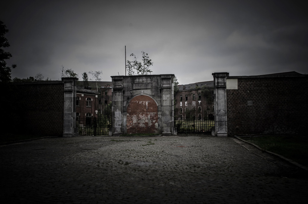 Fort de la Chartreuse military base belgium main entrance © David Hamilton Melby